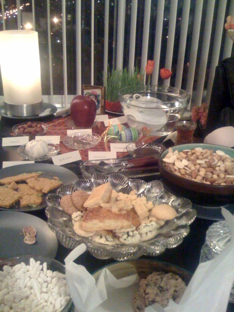 Our Persian New Year Table