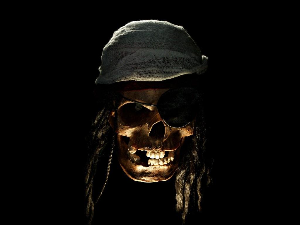 wallpaper skull bones pirate - photo #6