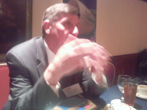 P&W President Steve Finger speaks @ Aero Club | by avbizwiz