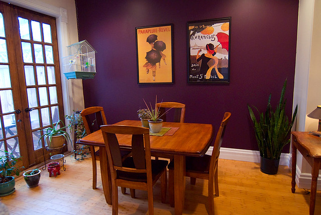 Purple Dining Room | By A M E L I A Purple Dining Room | By A M E L I A