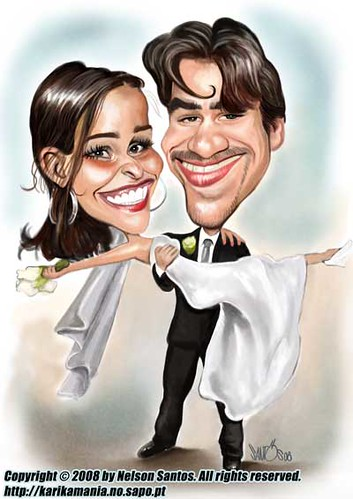 Wedding Invitation Caricature | Wedding Invitation Caricatur… | Flickr