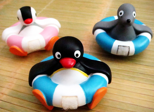Toys For 4 And Up : Pingu friends great toys to accompany you during baths