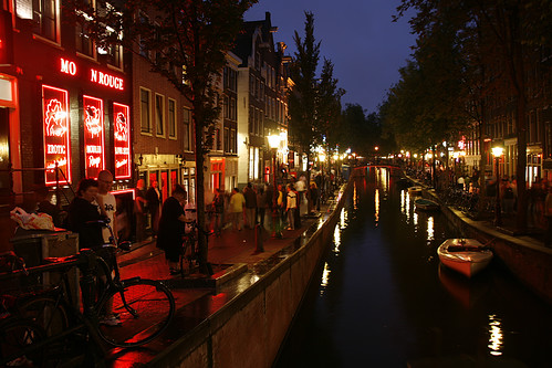 Amsterdam red light district qampa from my weekend trip - 4 5