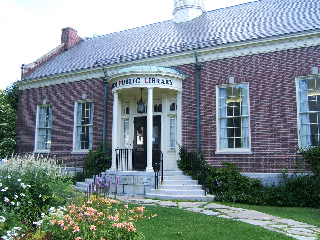 Camden Maine Public Library The Public Library In