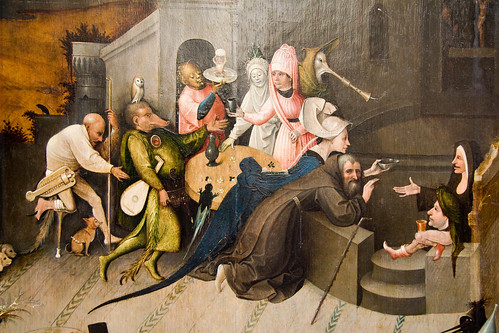 Hieronymus Bosch: The Temptation of St. Anthony | by sainz