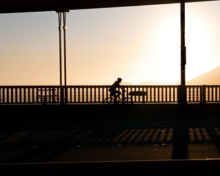 bike silhouette | by justonlysteve