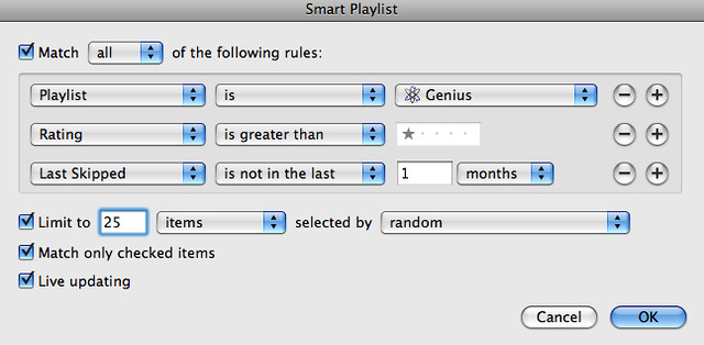 how to create a genius playlist in itunes 12