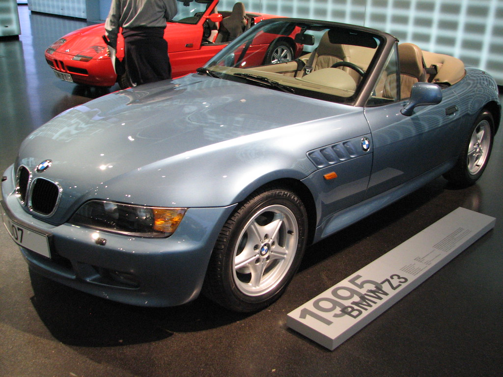 1995 Bmw Z3 Quot The Bmw Roadster Z3 Was Built Exclusively At Flickr