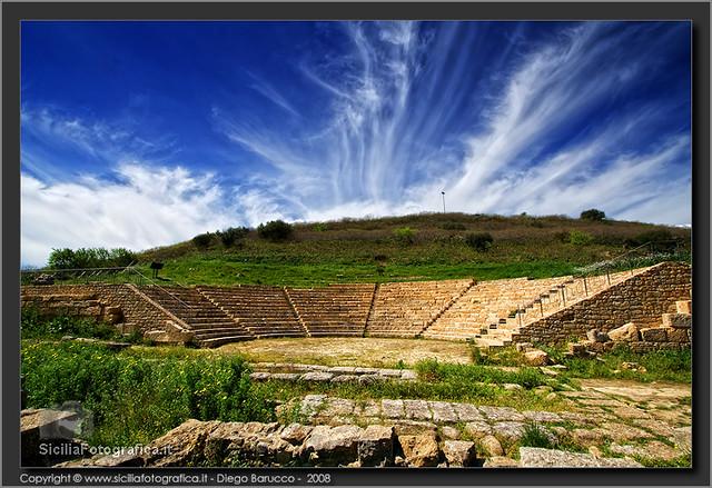 Teatro greco di Morgantina