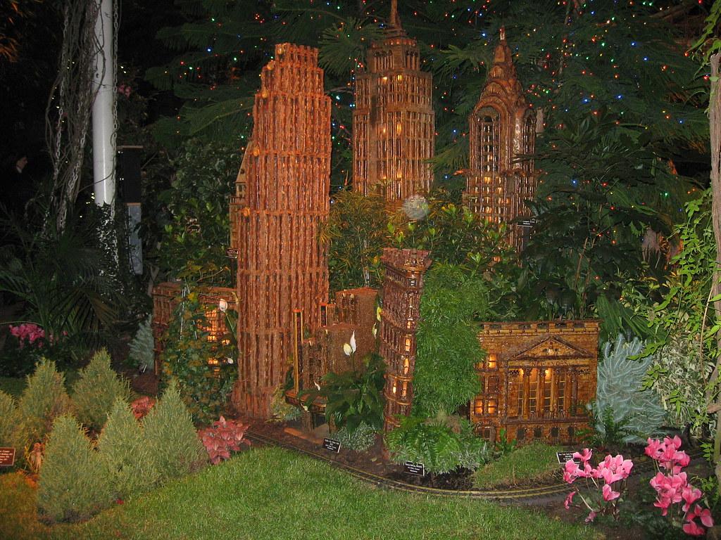 New York Botanical Garden Christmas Train Exhibit New