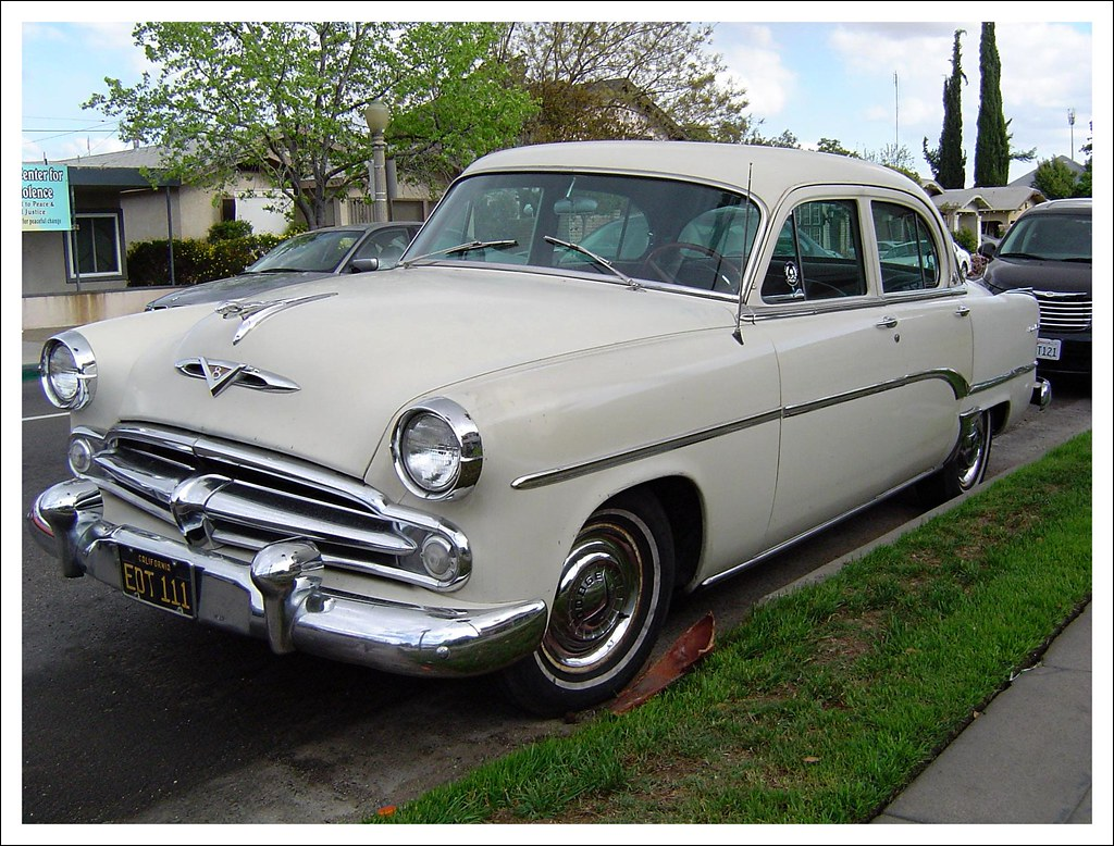 Very Rare 1954 Dodge Royal Local Sighting I Saw This