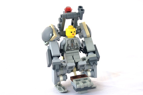 how to make a lego mech suit instructions