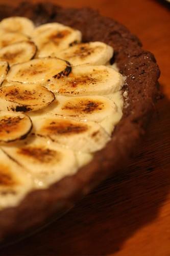 Banana Cream Pie with Whole Grain Chocolate Crust | Read abo ...
