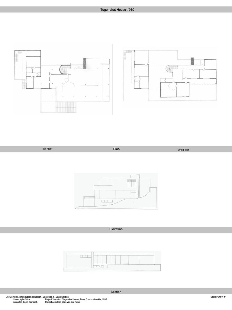 2572870540_0993ca1d18_b Tugendhat House Floor Plan Diions on