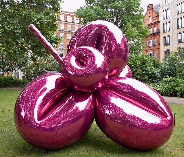 Jeff Koons Balloon Flower Magenta 163 12 9 Million Flickr