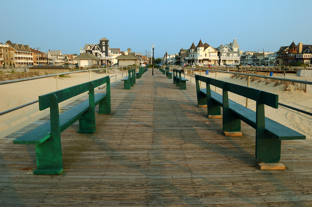 The fishing pier at ocean grove nj ocean grove nj for Ocean city nj fishing report