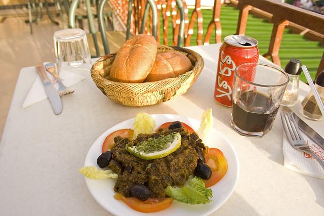 Caviar d 39 aubergine cafe argana marrakech flickr for Argana moroccan cuisine