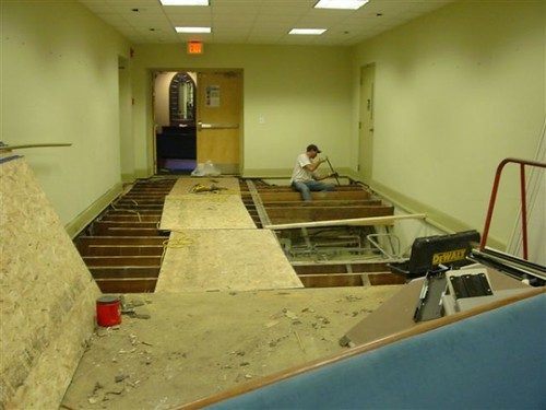 Foyer Area Jobs : Construction office foyer in the