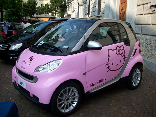 Hot Pink Smart Car For Sale