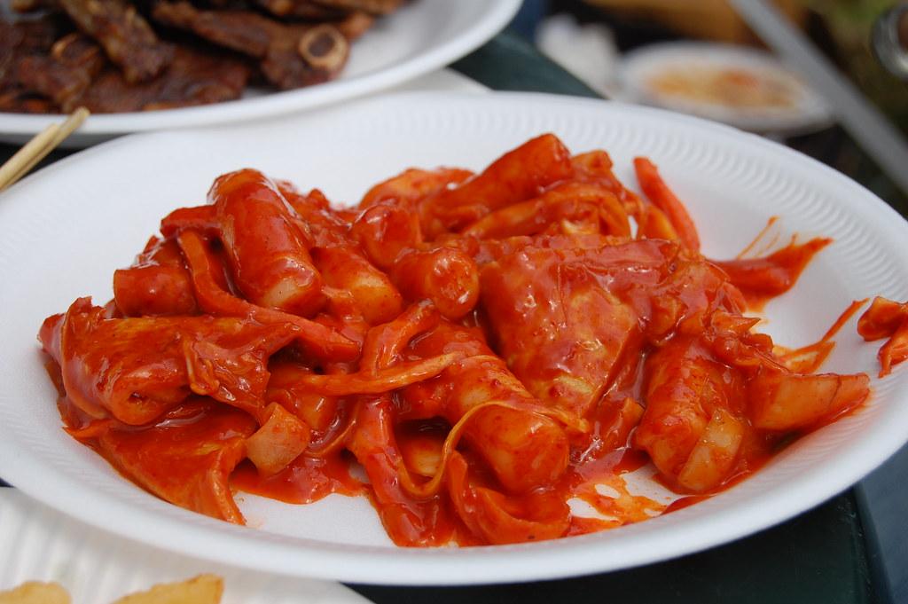 Korean Spicy Rice Cake Near Me