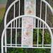 Antique Metal Bed Frame Mosaic Tile