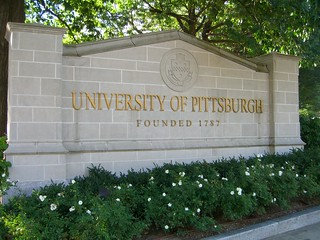 University of Pittsburgh Sign | by Fred​