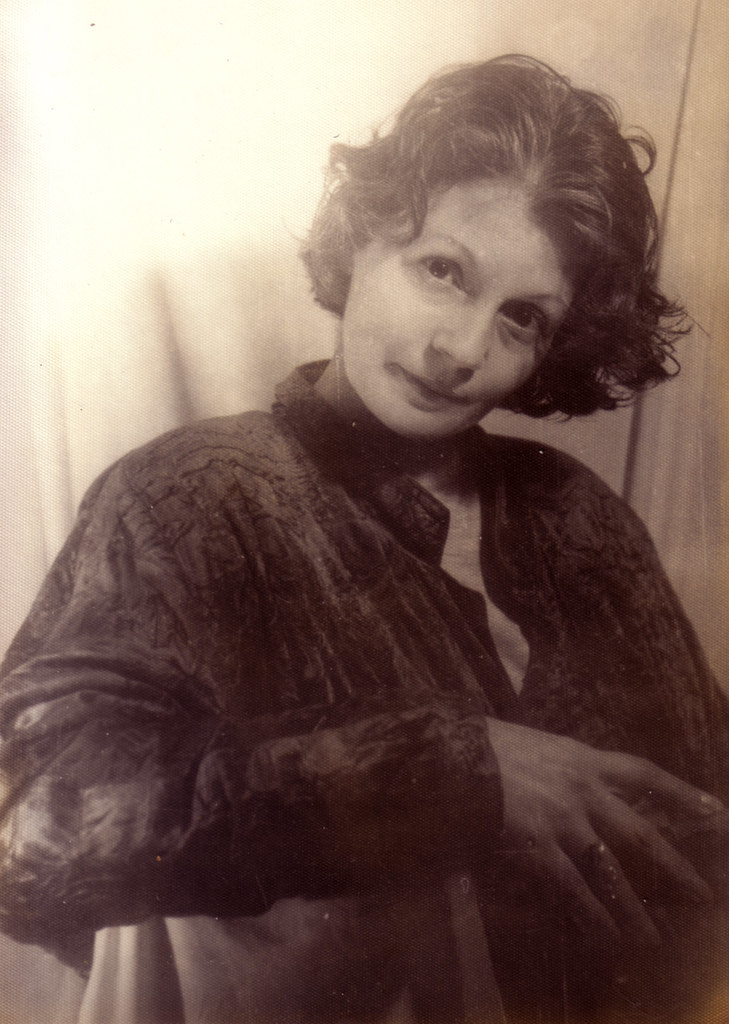 Monique El Mokri Nee Ben Bouazza Portrait Of My Mother