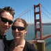 Craig and Tania and the Golden Gate Bridge