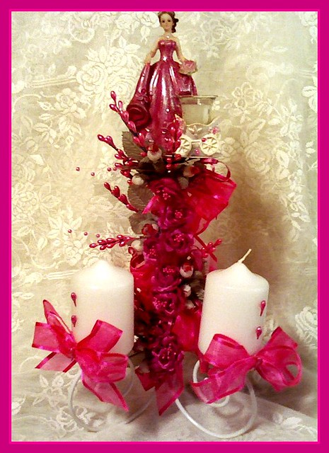 Unique and memorable quinceanera centerpiece beutiful