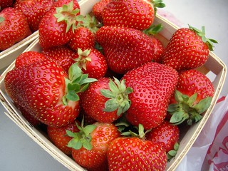 Strawberries from Crum's | by swampkitty