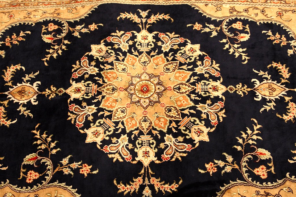 Colorful Patterns In A Turkish Carpet I Took This Photo