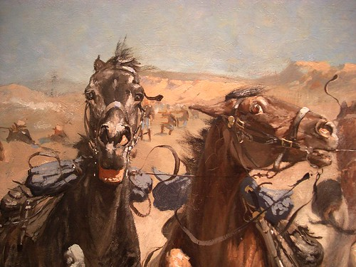 Frederic Remington Dismounted The Fourth Troopers
