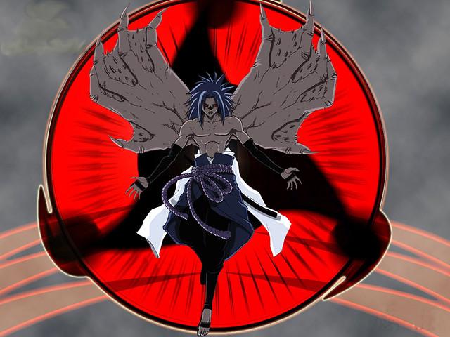 Demon sasuke sasuke in lvl 2 sasukerulz95 flickr - Demon de sasuke ...