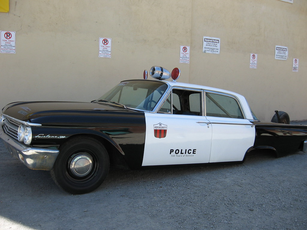 Axle Less 1961 Ford Galaxie Police Car This Galaxie Was