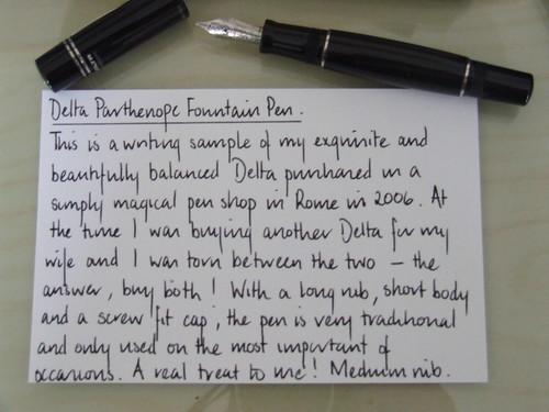Delta Parthenope Handwriting Sample Flickr Photo Sharing