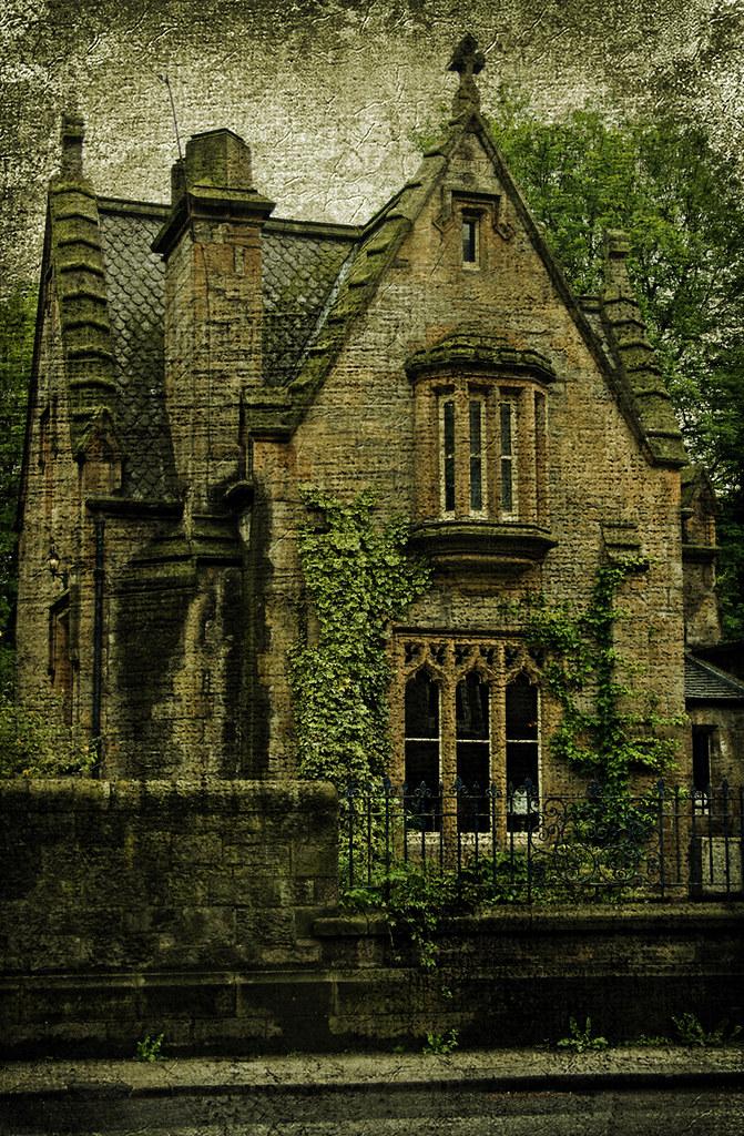 Gothic House Gothic House Dalry Cemetery Edinburgh