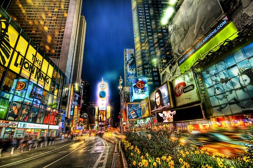 Times Square Looking Uptown | by Stuck in Customs