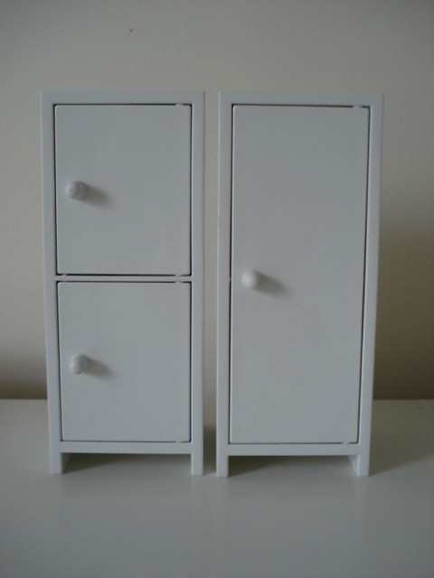 ikea dollhouse furniture easy diy ikea dollhouse furniture by tid118 kitchen units cupboards and fridgu2026 flickr