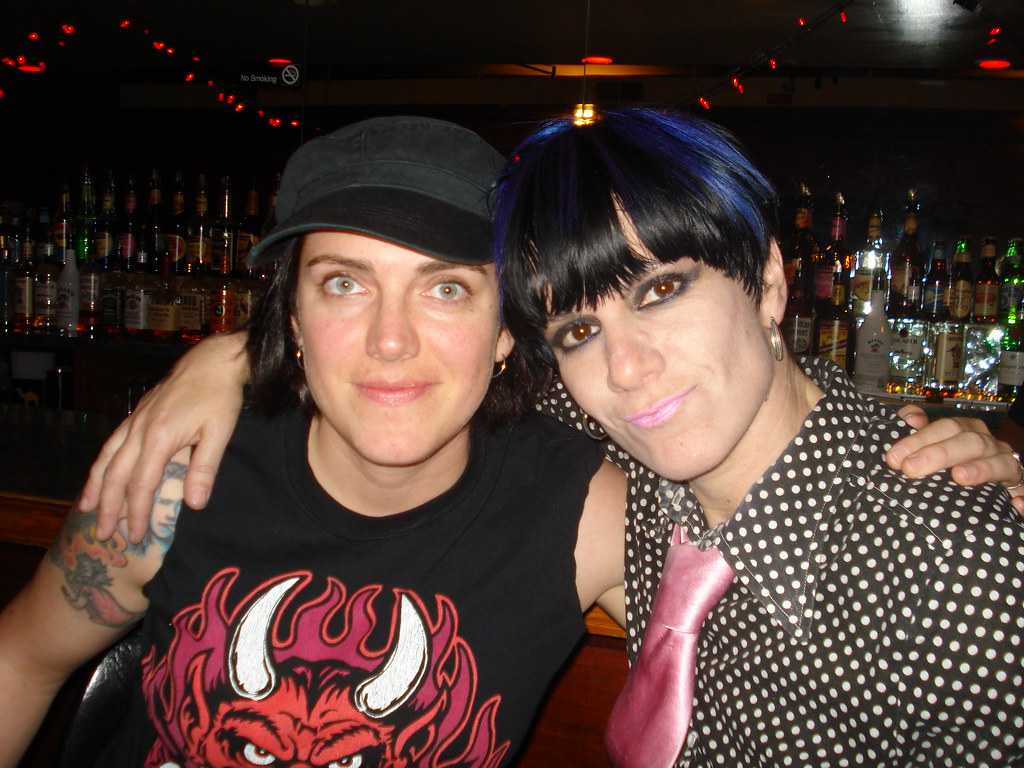 Dee Plakas And Jenn At The Donita Sparks Show Ottobar
