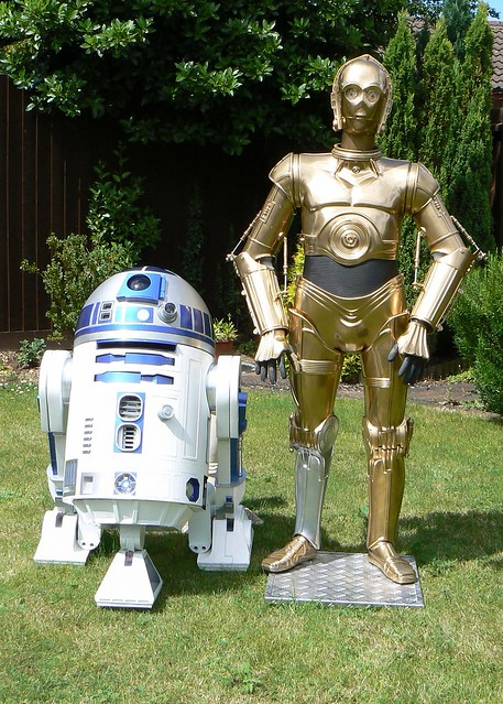 R2d2 And C3po R2D2 and C3PO |...