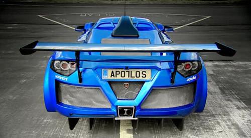 Top Gear S11E06: Gumpert Apollo S [rear view] | yes, even ...