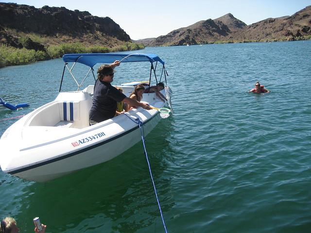 Lake havasu 7 25 8 1 08 great fishing in steamboat cove for Lake havasu fishing