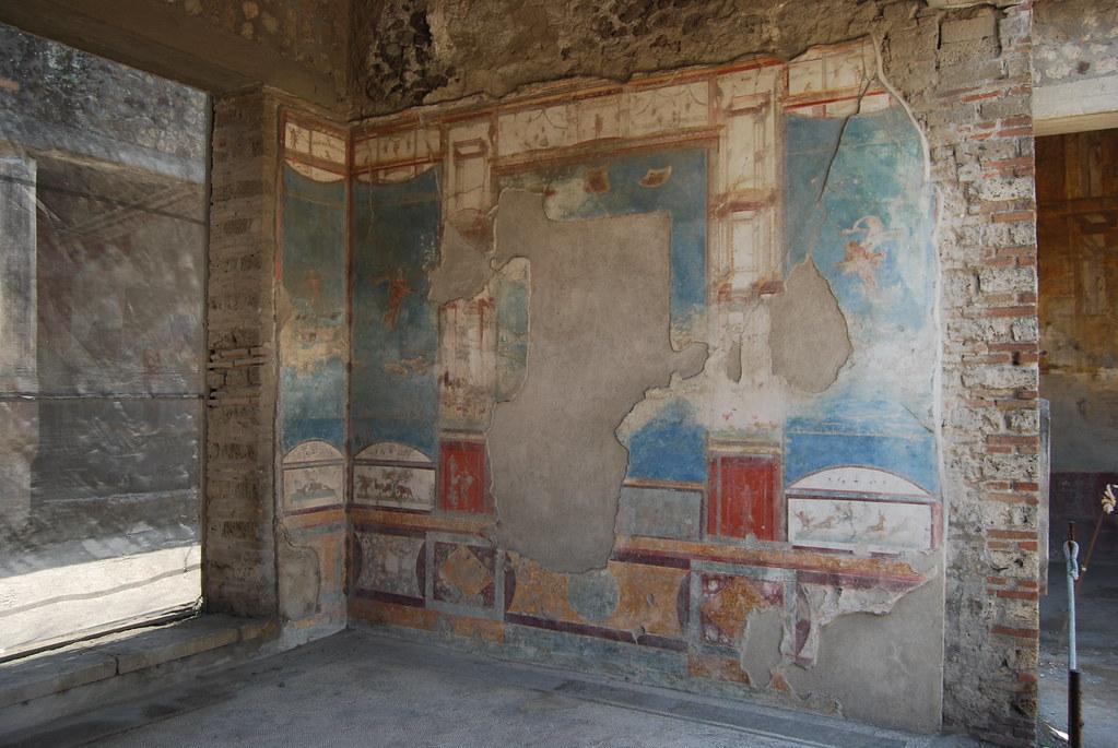 Casa della caccia antica pompeii casa della caccia for Planimetrie della casa antica