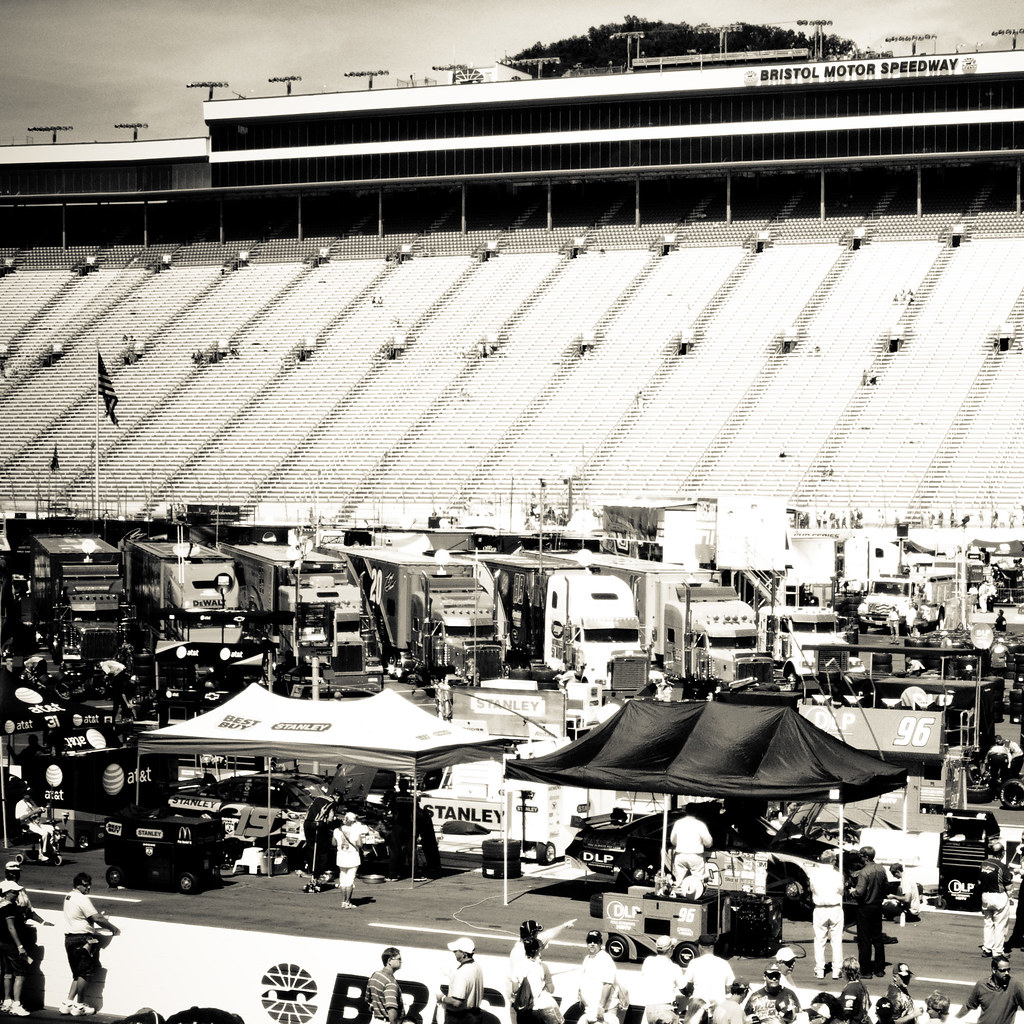 Bristol Seats And Infield At The Sharpie 500 At Bristol