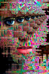 LARRY CARLSON, Portrait 9, digital photography, 2005. | by LARRY  CARLSON