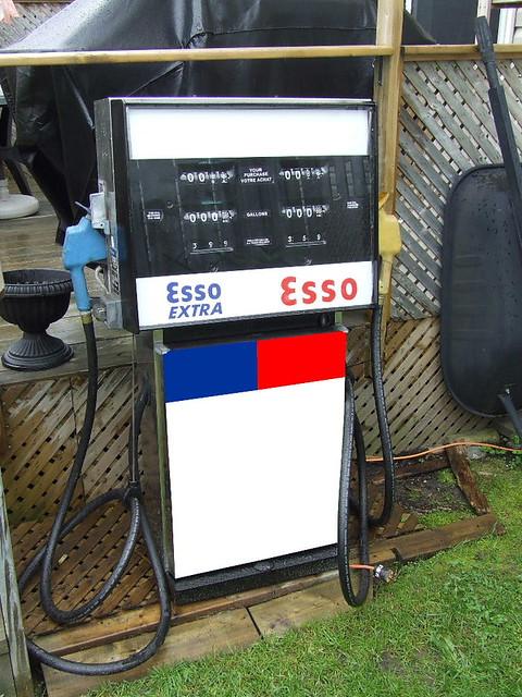 Esso Gas Pump My Personal Backyard Gas Pump A 1967