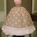 Pink and Brown Ball Gown - May 2008