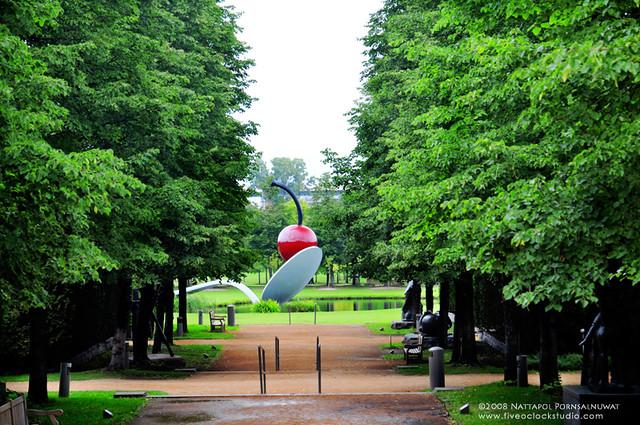 Minneapolis Sculpture Garden Spoonbridge And Cherry At M Flickr