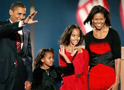 the first family of the usa the obamas and i would not