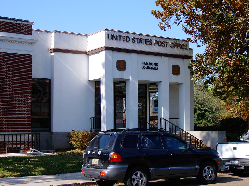 Post Office 70401 Hammond Louisiana Added onto the 1910 Flickr